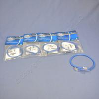 5 Blue Leviton Cat 5 1 Ft Ethernet LAN Patch Cords Network Cables Cat5 52455-1BL