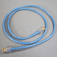 New Leviton Blue Cat 5 3 Ft Ethernet LAN Patch Cord Network Cable Cat5 52455-3L