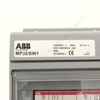 New ABB Splashproof Combination Modular for 32A IP44 3P+N+E IEC 60309 MP32/SW1