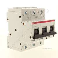 ABB 3-Pole High Performance Circuit MCB Breaker 50A 400/690V 50kA 240/415V S803S-K50