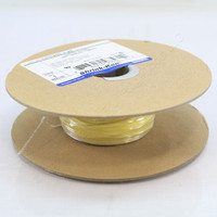 "Shrink-Kon 1/4"" Dia Yellow Polyolefin 25-Feet Rated 600V 125 Deg C CPO250-4-25"