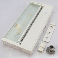 """New Juno Pro 9.5"""" White LED Under Cabinet 2-Lamp Lighting Fixture 3W UPL09-WH"""