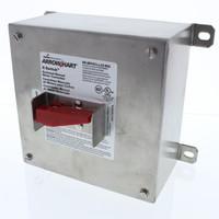 New Cooper ON/OFF Manual Motor Control X-Switch 60A 600V Hole Bottom AHMC3601100