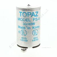 New Cooper Flourescent Light Starters FS-4 Condenser Type 30W 40W Lamp FS4 45FS4