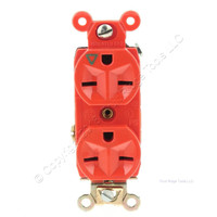 Pass & Seymour Orange Specification Grade Isolated Ground Straight Blade Grounding 15A 250V IG6600