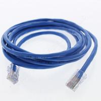 Leviton Blue Cat 5 7Ft Ethernet LAN Patch Cord Network Cable Cat5 8P8C 52455-7L
