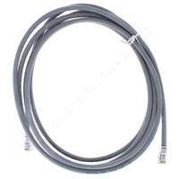 Category 5e 3M Gray Patch Cord Cable Low Smoke Zero Halogen 4PR 24 AWG TIA/EIA