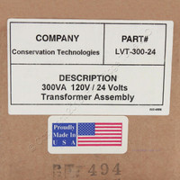 Conservation Technologies LVT-300-24 Low Voltage Lighting Transformer 300 VA 24 V