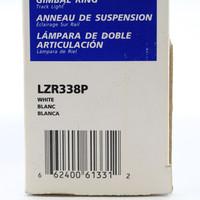 Cooper Lighting HALO White 150W PAR38 Lamp Lazer Gimbal Ring Track Light LZR338P
