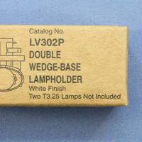 Cooper Black HALO Linea Under-Cabinet Double T3.25 Wedge Base Fixture 11W LV302P