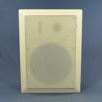 NEW Leviton Stereo Speaker 100 Watt In-Wall 90 DB 8 OHM 5,000hz White  40890-WS
