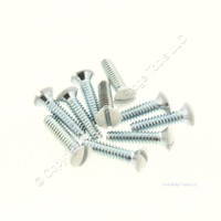10 Pack of Creative Accents White Wallplate Screws 9SW010