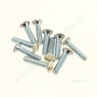 10 Pack of Creative Accents Ivory Wallplate Screws 9SI010