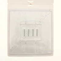 New Creative Accents Clear Wall Protector Plate for any 2-Gang Wallplate 9PP102