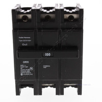 Cutler Hammer Thermal Magnetic Miniature Circuit Breaker 100A 240V 3P QCD3100H
