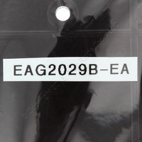 Eagle Brown Standard Grade Thermoset Plastic 1-Gang Mid-Size Blank Wallplate Cover 2029B