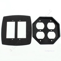 New Intermatic Two Gang Waterproof Duplex Receptacle Outlet Insert Plate WP201