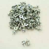 "100-Pack NEW Metallics 1/2"" x 5/16"" Head Drive Pin Steel Zinc-Plated DP-1 913"