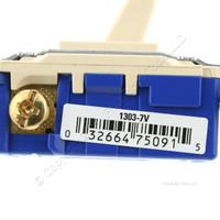 Eaton Wiring Ivory Quiet Toggle Wall Light Switch 3-WAY 15A 120V Bulk 1303-7V