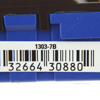 Eaton Brown Quiet Toggle Wall Light Switch 3-WAY 15A 120V Bulk 1303-7B