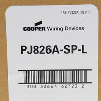20 Cooper Almond UNBREAKABLE Midsize 2-Gang Outlet Decorator Switch GFCI Wallplates PJ826A