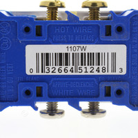 Eaton White Decorator Receptacle Duplex Outlet NEMA 5-15R 15A 125V 1107W