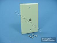 Leviton Ivory Phone Jack Wallplate 6-Wire Telephone C2675-I