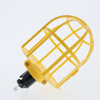 Cooper Wiring Devices Hook Mounting Nylon Medium Commercial Grade Yellow Lamp Holder Guard 1466Y