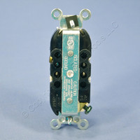 Leviton Light Almond Isolated Ground Industrial Grade Straight Blade Duplex Outlet Receptacle 5-20R 20A 125V 5362-IGT
