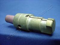 10 Leviton Blue 16 Series Male Detachable Cam-Type Plugs 220A Crimped 16D25-B