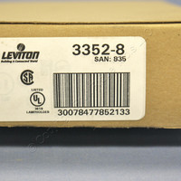 5 Leviton Phenolic Lamp Holders Light Sockets Hickey E26 Medium Base 3352-8