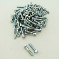 "New 100-Pack Metallics 5/16""-18 x 1-1/2"" Hex Head Bolts Zinc Plated JBHC13"
