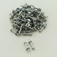 "New 100-Pack Metallics 1/4"" x 1"" Head Drive Pin JDP3"