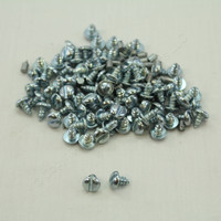 "New 100PK Metallics 8 x 1/4"" Sheet Metal Tapping Screws Slotted Pan Head 8014SM"