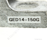 """O-Z/Gedney 1-1/2"""" 1 Hole Rigid Conduit Pipe Strap Malleable Iron 14-150G - NEW"""