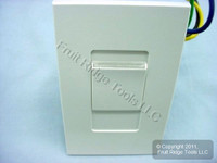Leviton White Monet Slide Light Dimmer Switch 1000W Incandescent MNI10-1LW