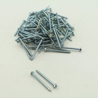 "New 100PK Metallics 8 x 2"" Drill Screws 1/4"" Hex/Slotted Head Zinc Plated DS159"