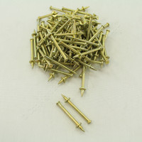 "New 100-Pack Metallics 1/4"" x 2"" Head Drive Pin JDP6"