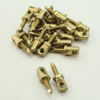 """New 25PK Metallics 3/8""""-16 x 1"""" Metal Horizontal Anchoring Hangermate JHMS3816"""