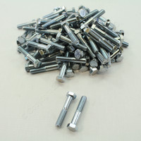 "New 101-Pack Metallics 3/8""-16 x 2"" Hex Head Bolts Zinc Plated JBHC24"