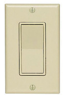 74 Ace Ivory Residential Single Pole Decorator Rocker Wall Light Switches 15A 31612