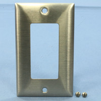 Bryant 1-Gang NON-MAGNETIC Stainless Steel Wallplate Decorator Wallplate S601D