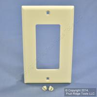 Leviton Almond 1-Gang UNBREAKABLE Decora Wallplate GFCI GFI Nylon Cover 80401-NA