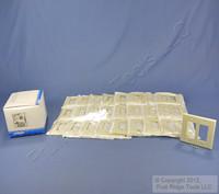 25 Leviton Midway Almond 2-Gang Leviton Decora Wallplates GFCI GFI Covers 80609-A