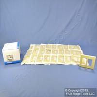 25 Leviton Midway Ivory 2-Gang Leviton Decora Wallplates GFCI GFI Covers 80609-I