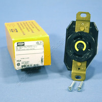 Hubbell Bryant L5-30 Locking Receptacle Twist Turn Lock Outlet NEMA L5-30R 30A 125V HBL2610