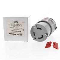 New Arrow Hart Lock Twist Turn Locking Plug Connector L11-30R 30A 250V 3Ø 6394