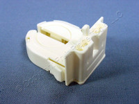 Leviton Fluorescent Lamp Holder Light Socket T-8 T8 Medium Bi-Pin G13 Base Wide Wing 13652-WWP