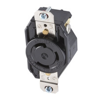 New Hubbell Single Locking Receptacle Outlet 1-Phase NEMA L5-30R 30A 125V L530RZ
