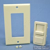 Leviton Lt. Almond Color Change Kit for Illumatech Dimmer Switch IPKIT-NT